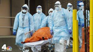 Burials Delayed, Morgues Overwhelmed