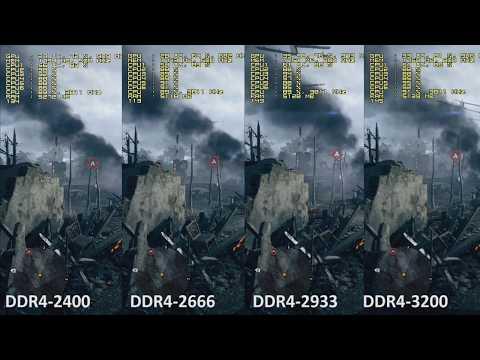 Intel Core i5-8400 Review. DDR4-2400 vs DDR4-2666 vs DD4-2933 vs DDR4-3200 Test