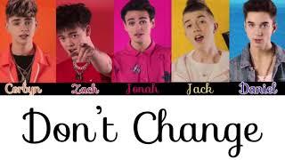 Why Don't We Don't Change(ugly dolls soundtrack): Colour Coded Lyric Video