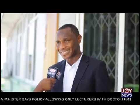 Improving Education - The Pulse on JoyNews (21-11-18)
