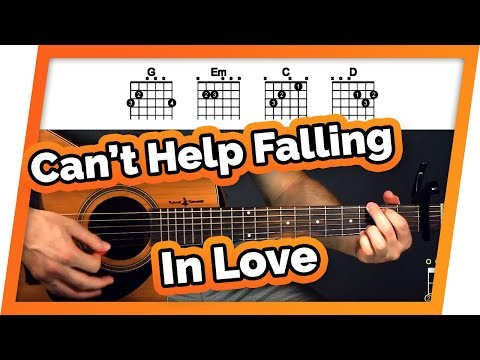 Can  39 t help falling in love with you guitar tutorial  elvis presley  easy chords guitar lesson