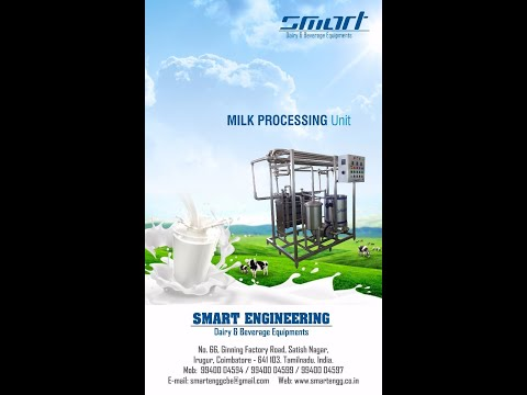 Mini Milk Plant for Turn Key Basis