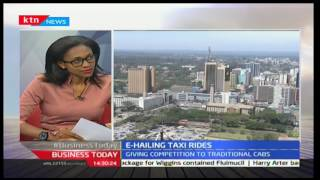 KTN Business Today - E-Hailing Taxi Rides with Loic Amado and Joy Doreen Biira 20/12/2016