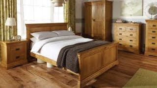 Farmhouse Country Oak Bedroom Furniture Roomset - Top Furniture