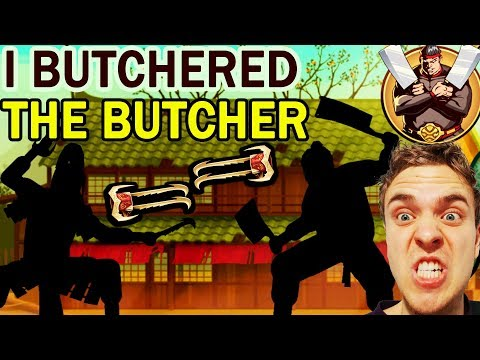 Shadow Fight 2 Special Edition. Destroying Butcher in The Interlude. I'm UNSTOPPABLE!