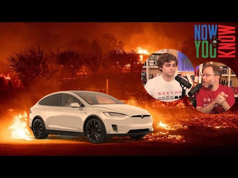 How Tesla Can Help People in the CA Wildfires | In Depth