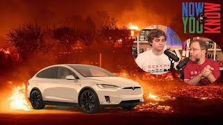 How Tesla Can Help People in the CA Wildfires   In Depth