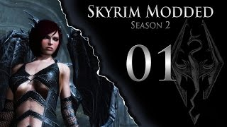 Skyrim Modded S02 Ep01 When A Vampire Can't Bite