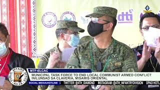Municipal Task Force to End Local Communist Armed Conflict inilunsad sa Claveria, Misamis Oriental