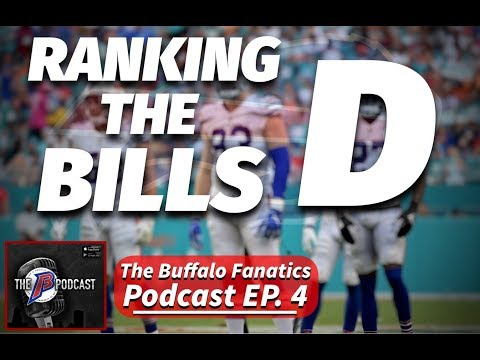 Buffalo Fanatics Podcast EP.4│Ranking the Bills Defense│2019 Buffalo Bills