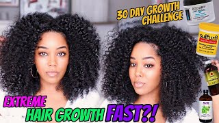 Extreme Hair Growth Quick & Fast?| Using Sulfur 8 & Doo Gro Mixture|Melissa Denise