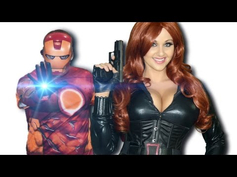 What Makes You Beautiful! by One Direction (Avengers Assemble)   Parody   Screen Team