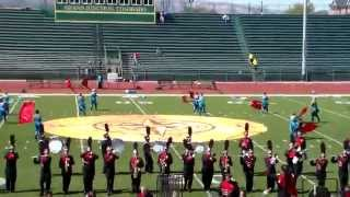 2015 Central High School Marching Band 1st Show