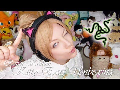 [Unboxing #039] Razer Kitty Ears für Kopfhörer (Kraken)