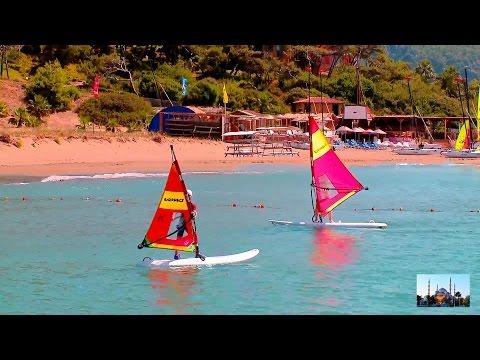 Пляжные курорты Турции. Красивое видео путешествие