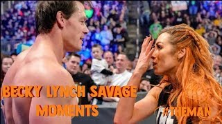 Becky Lynch Savage Moments (So Far)