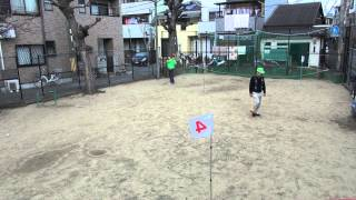 町会でグランドゴルフ開催しました!最後にホールインワン!