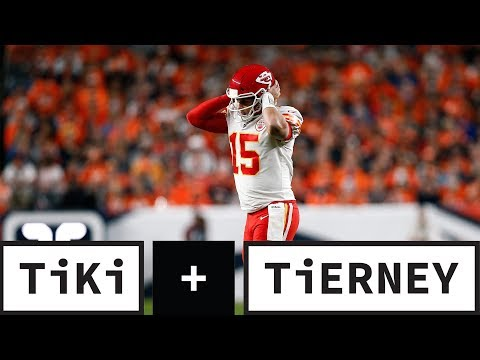Patrick Mahomes' Knee Injury Changes The AFC Playoff Race | Tiki + Tierney