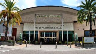 Walking around The Florida Mall - Orlando's Most Popular Shopping Mall