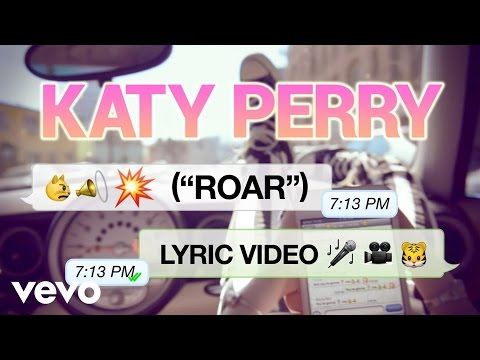 Katy Perry – Roar (Lyric Video)