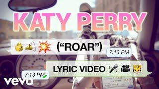 Katy Perry - Roar (Lyrics)