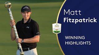 Matt Fitzpatrick wins the 2020 DP World Tour Championship | 2020 DP World Tour Championship