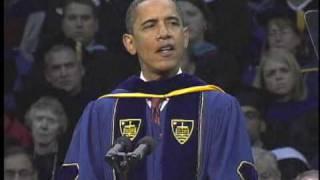 Commencement 2009: President Barack Obama