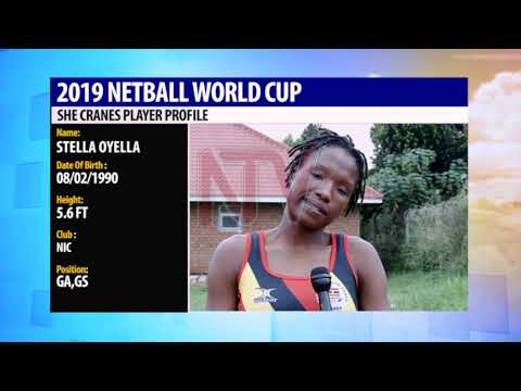 NETBALL WORLD CUP: Meet Oyella a goal shooter on the National team
