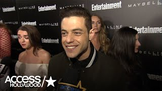 Rami Malek Thrilled To Have Grace Gummer Join 'Mr. Robot's' Season 2 Cast | Access Hollywood