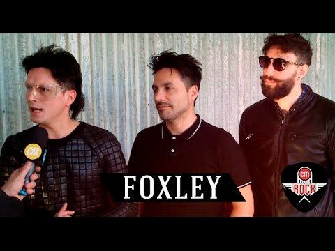 Foxley video Entrevista CM Rock - Agosto 2016