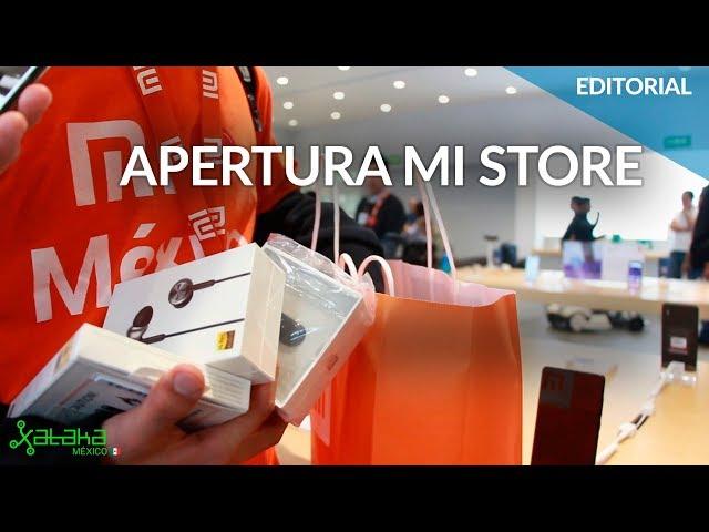 APERTURA de la primera MI STORE en México con todo y PRECIOS