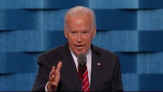 Joe Biden tears down Trump