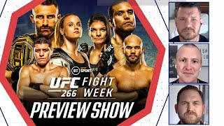 Fight Week: UFC 266 Preview | Volkanovski v Ortega, Shevchenko v Murphy, Diaz v Lawler