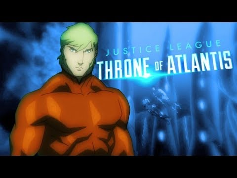 Aquaman Throne to Atlantis - Faded