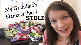 LETS TALK ABOUT THE CROCHET BLANKETS THAT I STOLE | Ophelia Talks