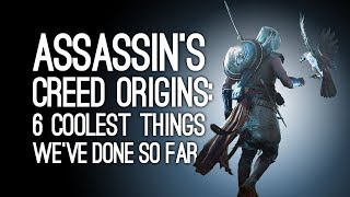 Assassin's Creed Origins: 6 Coolest Things We've Done So Far