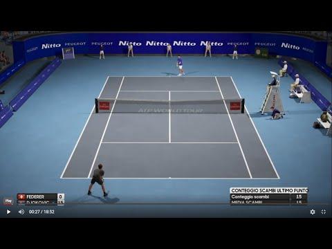 Roger Federer vs Novak Djokovic - Nitto ATP Finals 2019 AO Tennis PS4