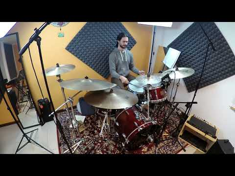 """Alessandro Maggiolino performs """"Up Popped A Flower"""" (Peter Erskine)"""