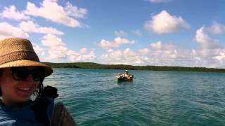 preview picture of video 'Antigua inflatable kayak float'