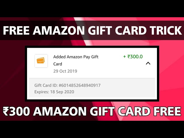 How to】 Get free Amazon Gift Card In India