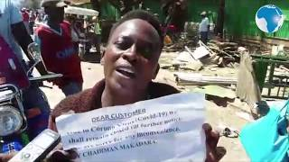 Miraa trader laments after their premises were demolished by curfew