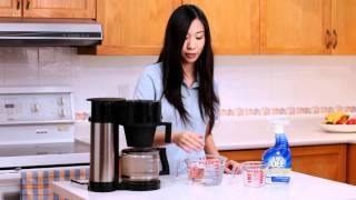 How To Clean A Coffee Maker with CLR Remover (Calcium Lime & Rust Remover)