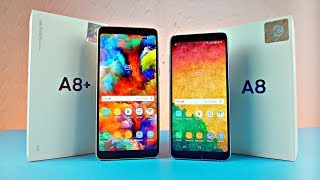 Samsung Galaxy A8 & A8 Plus 2018 - UNBOXING!!!