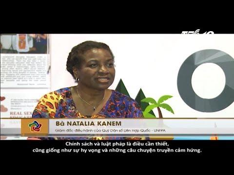 Talkshow giữa Tiến sỹ Natalia Kanem, Giám đốc điều hành UNFPA toàn cầu và phóng viên truyền hình NetViet