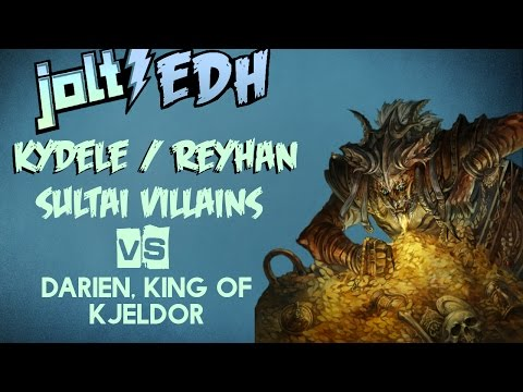 Jolt - Commander - Kydele and Reyhan vs Darien, King of Kjeldor