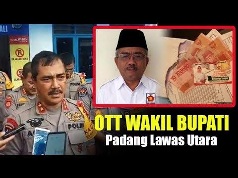 OTT Wakil Bupati Padang Lawas Utara, Ini Keterangan Kapolda dan Kabid Humas Polda Sumut