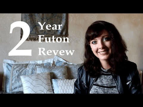 2 Year Futon Review & Husband's Experience Sleeping On the Floor