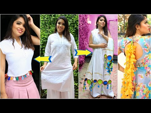 3 Shocking Fashion DIY for TEENAGERS Using OLD Clothes ..   #Reuse #Styling #Anaysa #DIYQueen