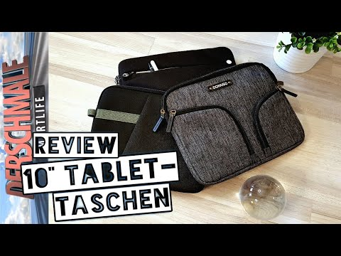 "10"" & 8"" Tablet-Taschen 💼 3+1 Pro & Contra - Erfahrungsberichte | Review"