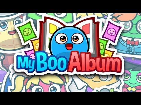 Vídeo do My Boo Album - Figurinhas